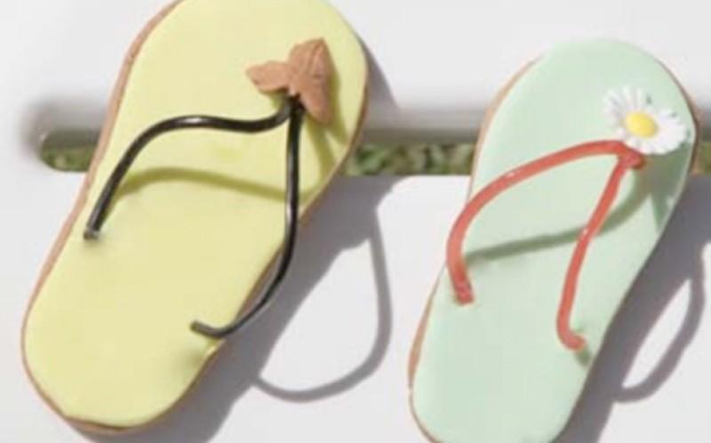 Galletas de colores con Aceite de Oliva Picual