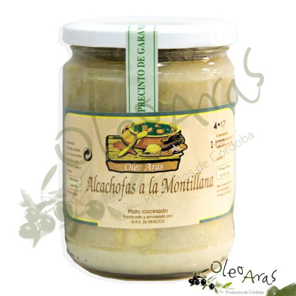 Oleo Aras - Alcachofas a la Montillana - 410grs.