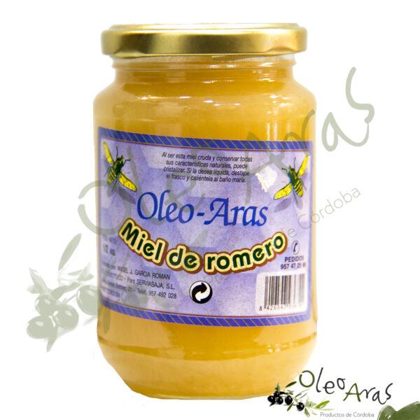 Oleo Aras - Miel de Romero - 500grs.